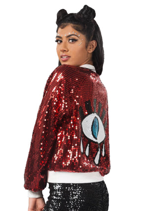 Eye See You Sequin Jacket