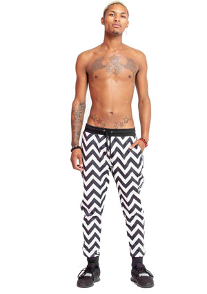 Black and White zig zag, Black and White zig zag tracksuit, Black and White zig zag track pants, breakdancing tracksuit, club tracksuit, dancing tracksuit, modern tracksuit, futuristic tracksuit, breakdancing tracksuit, club clothes, dancing clothes, fest