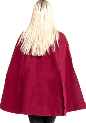 Cape, Coat, Jacket, Poncho, Wrap, Festive, Holiday, Parisian, Vintage, Holiday Cape, Festive Cloak, Unisex Poncho, Fall, Holiday, Winter, Festival, Unisex