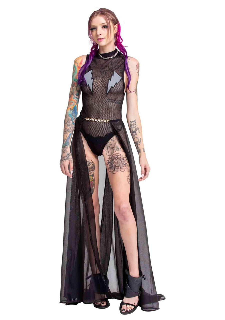 Trounce Overskirt, Unisex-Skirt-A Line Called K