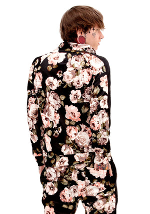 Women's Fashion, Unisex Fashion, unisex tracksuit, Tracksuit, floral tracksuit, bomber jacket, Spring Essentials, Spring, Men's Tracksuit, Athletic Tracksuit