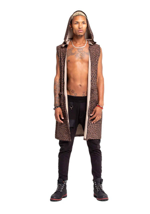 Scarred Royalty Boxer Robe, Unisex-Outerwear-A Line Called K