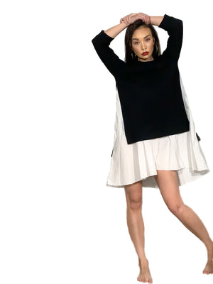 All-in-One Sweatshirt Dress