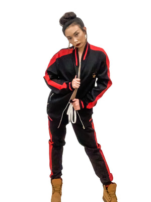 Royal Luxe Tracksuit Jacket, Unisex