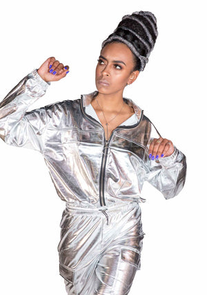 Silver Surfer Jumpsuit, Unisex-Jumpsuit-A Line Called K