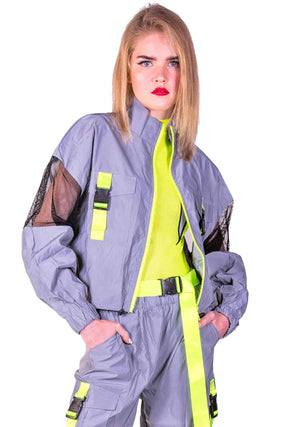 Super Sonic Jacket, Unisex-Outerwear-A Line Called K