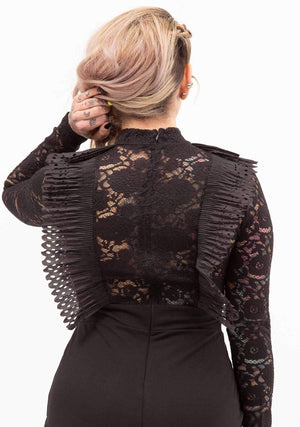 Victorian, Romance, Black Dress, Lace, Women's Dresses, Little Black Dress, Cutting Edge, Romantic, Sexy