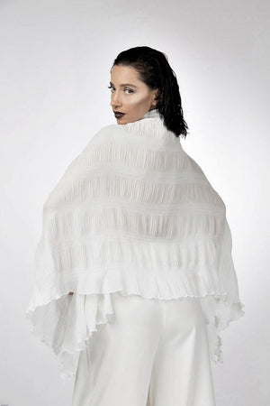 Winged Cape-Top-A Line Called K-S-White-A Line Called K