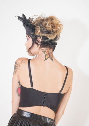 Beautiful Bustier-Shirts-A Line Called K-Red Rainbow-A Line Called K