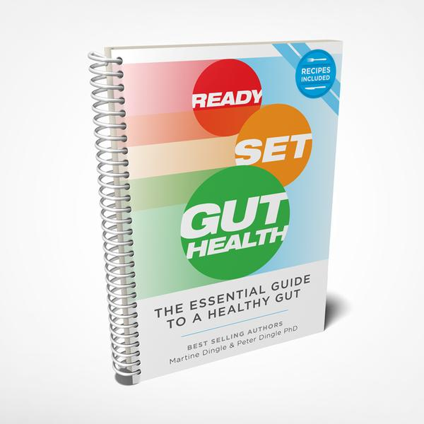 Ready Set Gut Health - Martine & Peter Dingle PHD