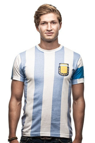 Argentina Capitano T-Shirt | White - ITA Sports Shop