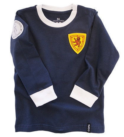 "Scotland ""My First Football Shirt"" Long Sleeve - ITA Sports Shop"