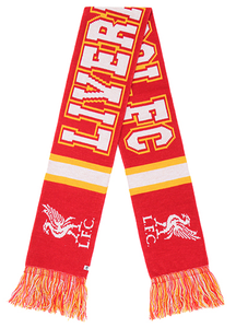 Liverpool Football Club 47 Breakaway Scarf - ITA Sports Shop