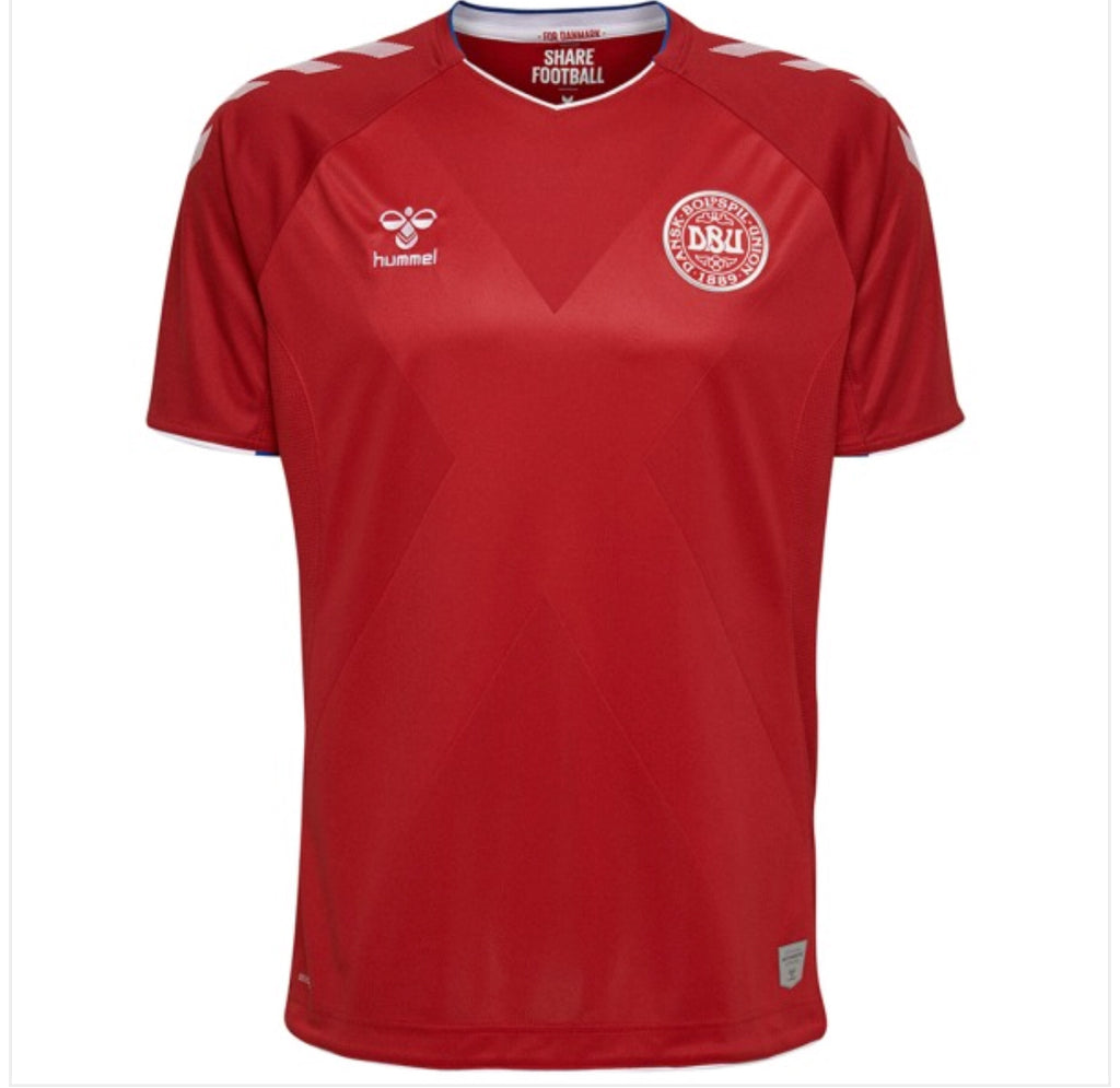Denmark World Cup Home Jersey 2018 19 0473e5c9c