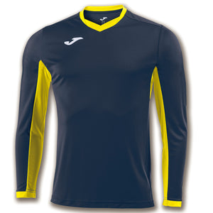 Spanish American Football Academy Navy-Yellow Long-Sleeve - ITA Sports Shop