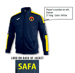 Spanish American Academy Football Track Jacket - ITA Sports Shop