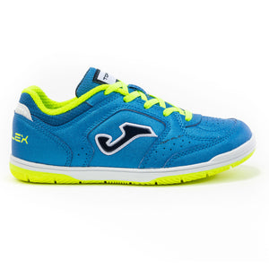 Joma Top Flex Jr. 2005 Royal - Fluro Lace Indoor - ITA Sports Shop