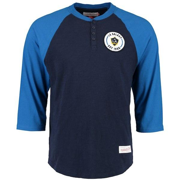LA Galaxy Heritage 3/4 T-Shirt - ITA Sports Shop