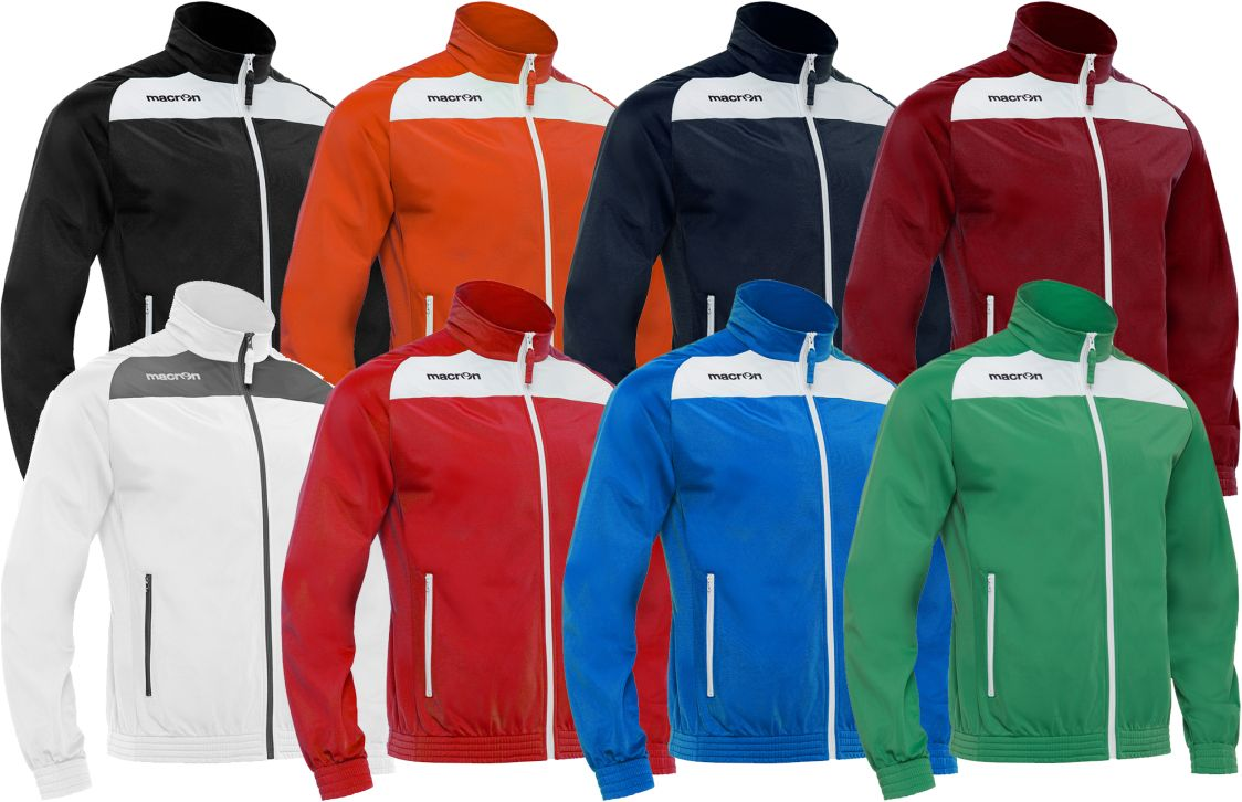 Macron Camalus Jogger Full-Zip - Final Sale - ITA Sports Shop
