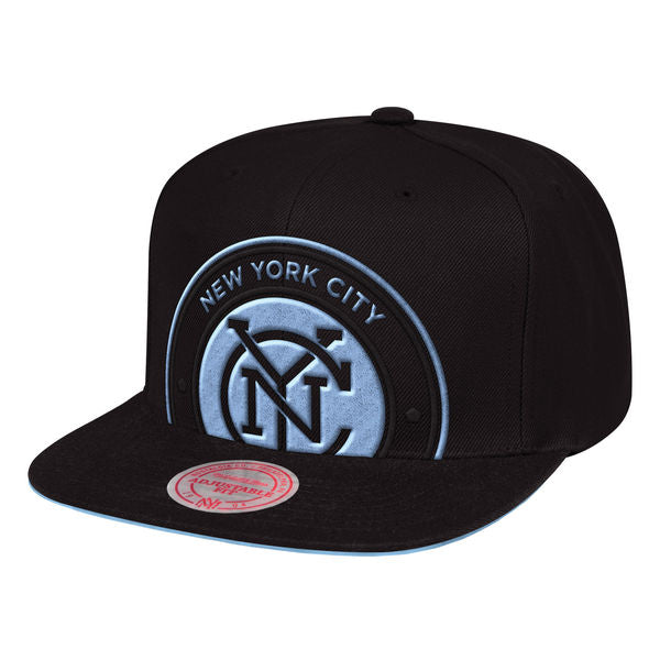 New York City FC Cropped XL Snapback Cap - ITA Sports Shop