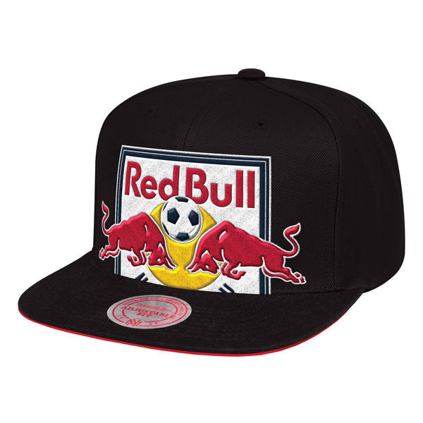 New York Red Bulls Cropped XL Snapback Cap