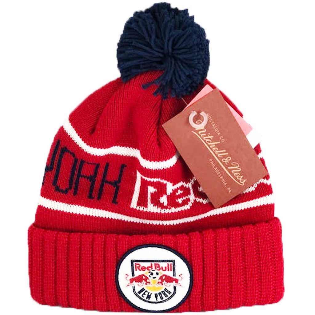 New York Red Bulls Knitted Glow-in-Dark Hat - ITA Sports Shop