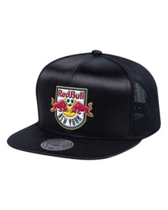 New York Red Bulls Satin Trucker Cap - ITA Sports Shop