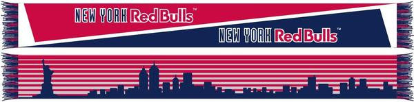 New York Red Bulls Skyline Scarf - ITA Sports Shop