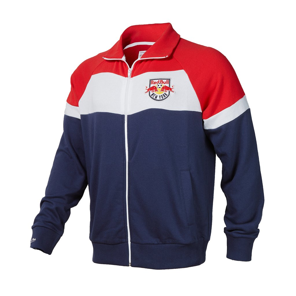 New York Red Bulls Color Blocked French Terry Jacket - ITA Sports Shop