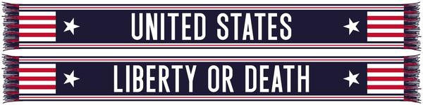 US SOCCER LIBERTY SCARF - ITA Sports Shop