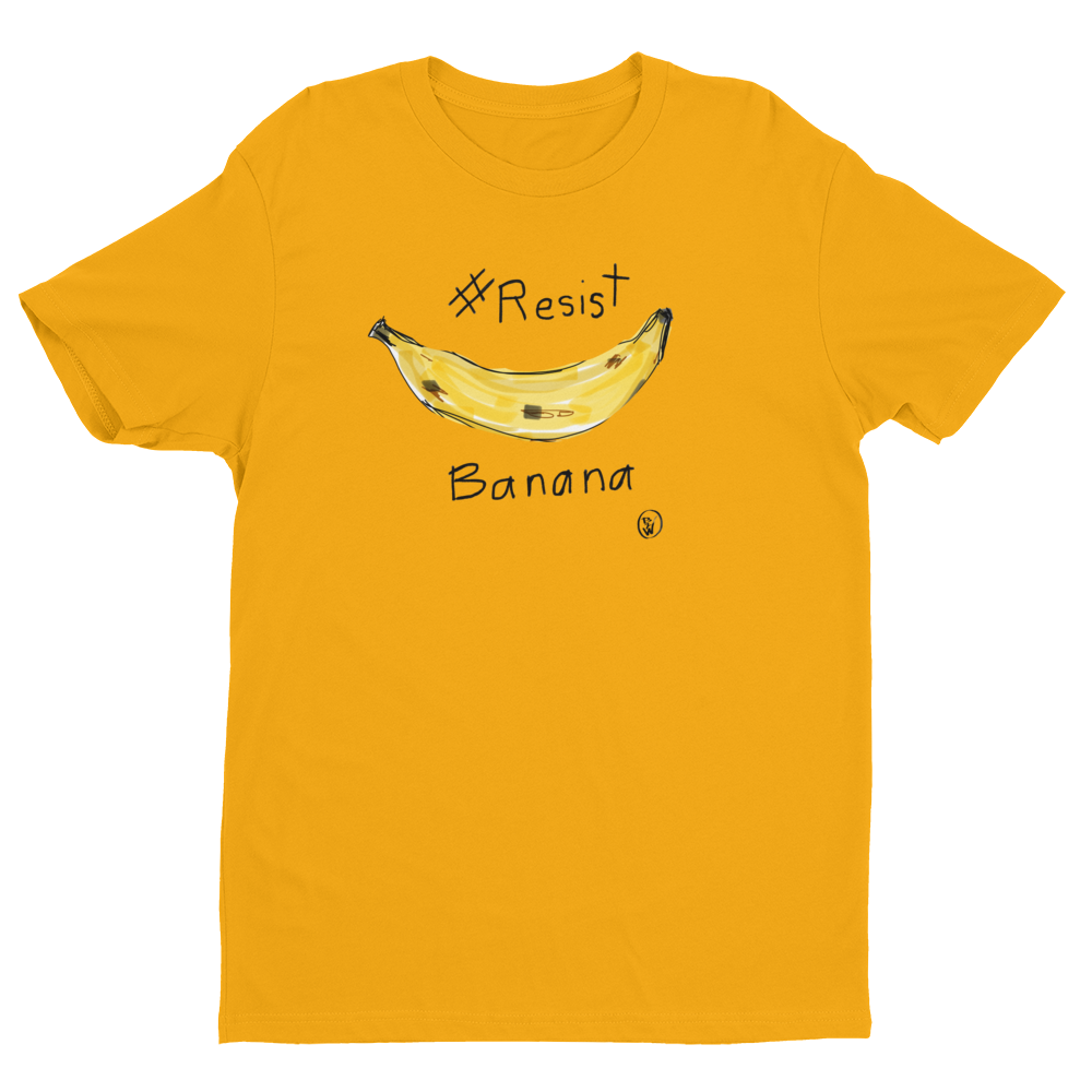 Resist Banana Men's T-shirt