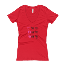 Sister (Black Lettering) Women's V-neck