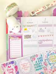 Work Shift Planner Stickers