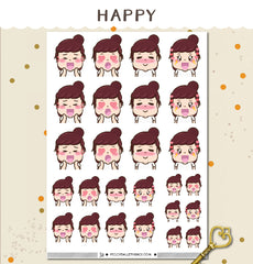 Happy Peggy Planner Stickers