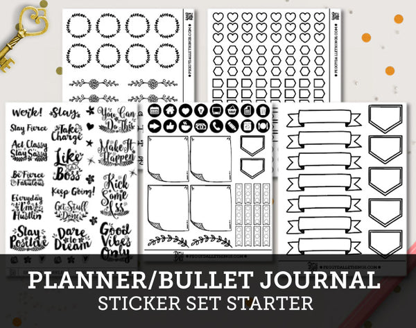 Planner Stickers Starter Pack