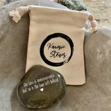 The Loss Is Immeasurable But So Is The Love Left Behind ~ Engraved Inspirational Rock