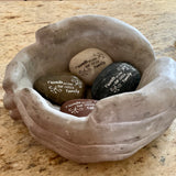 Friends Become Our Chosen Family ~ Engraved Inspirational Rock