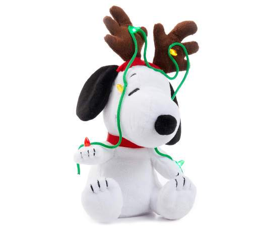 Switch Adapted Light & Sound Singing Snoopy Plush - LDK Adapted Toys LLC