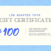 LDK Adapted Toys Gift Certificate