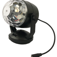Switch Adapted Disco Ball Light