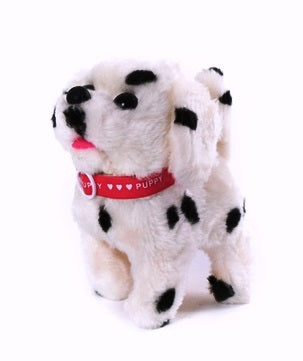 Switch Adapted Dalmatian Puppy Walks and Barks