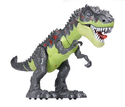 Walking, Roaring, & Glowing Tyrannosaurus  Adaptive Toy - LDK Adapted Toys LLC