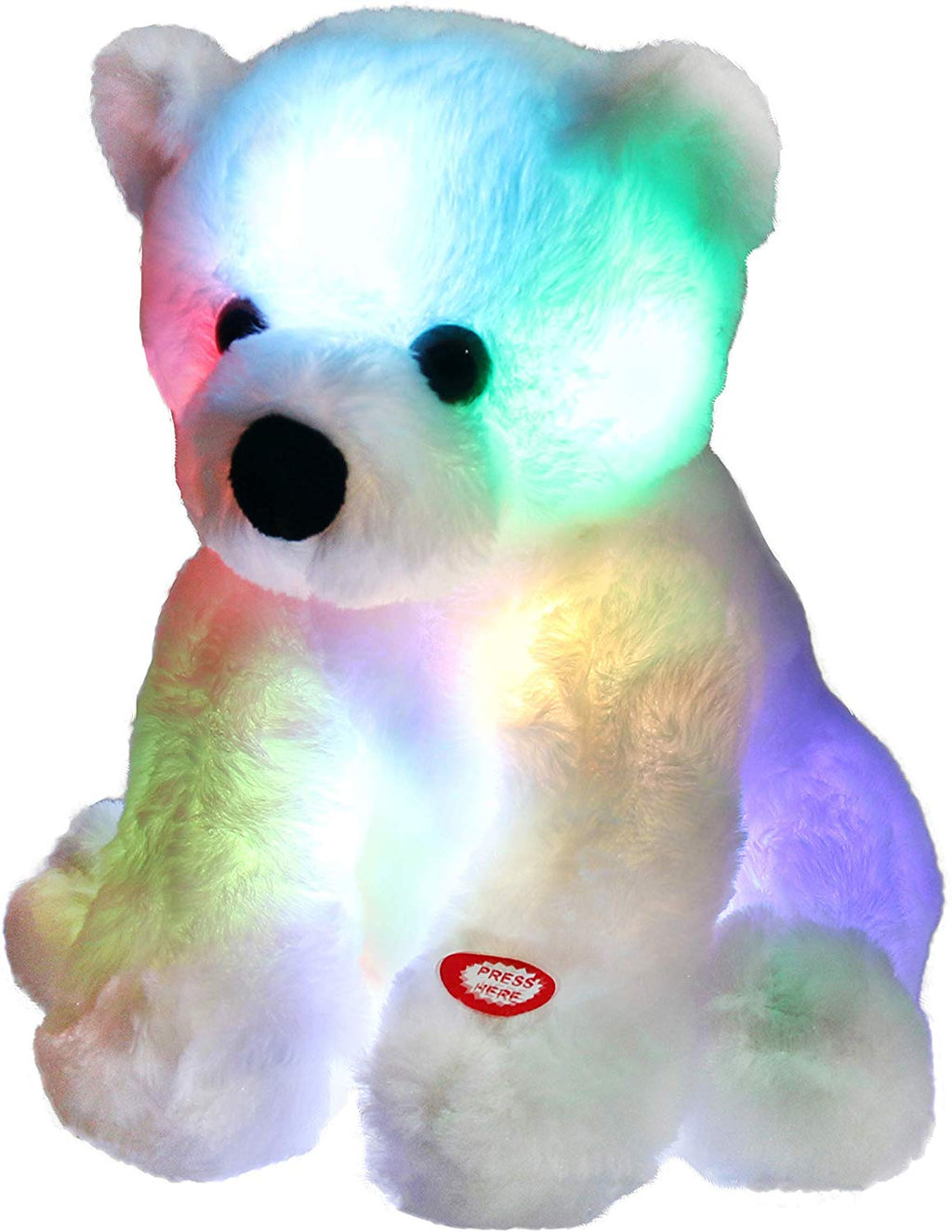Switch Adapted LED Glow Polar Bear Plush