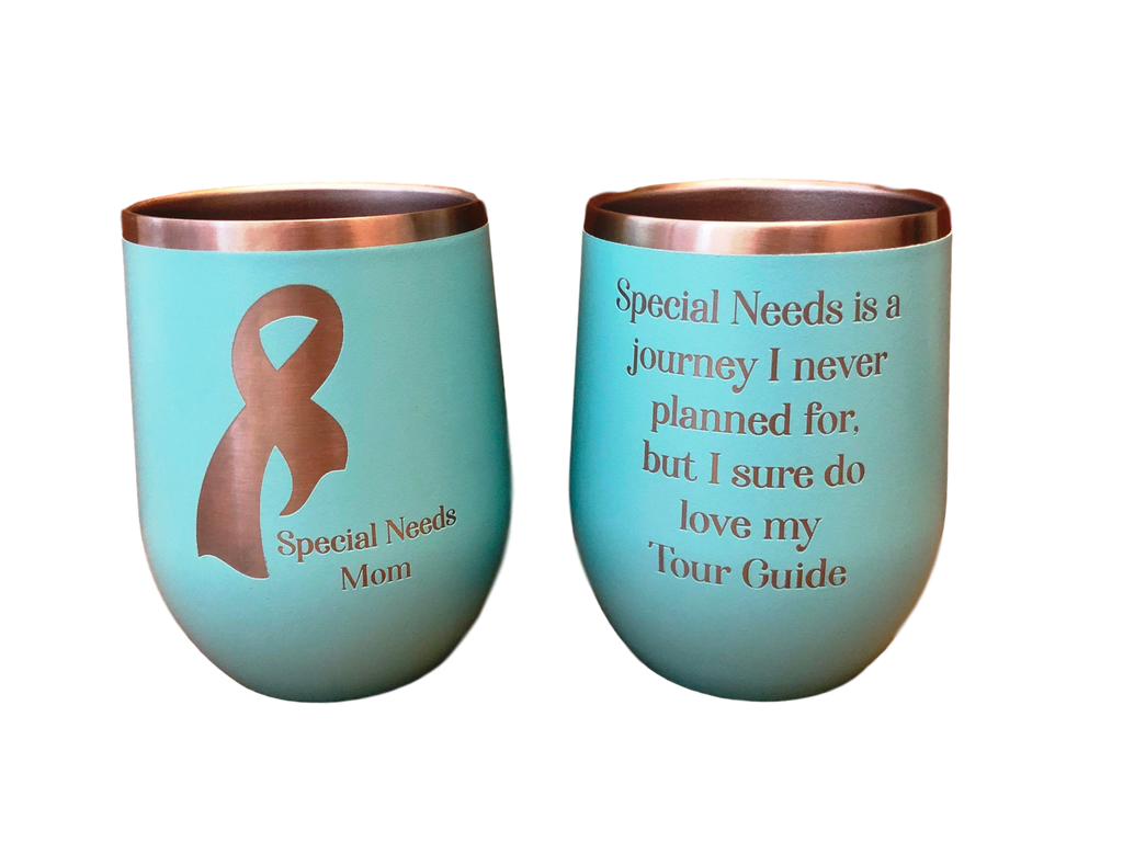 Special Needs Mom Wine Tumbler