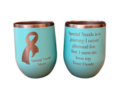 Special Needs Mom Wine Tumbler | LDK Adapted Toys LLC
