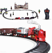 Radio Control Train Set with Real Smoke Switch Toy - LDK Adapted Toys LLC