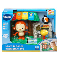 VTech Learn & Dance Interactive Zoo Adaptive Toy - LDK Adapted Toys LLC