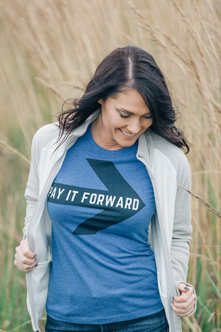 """Pay It FORWARD"" Women's T Triblend"