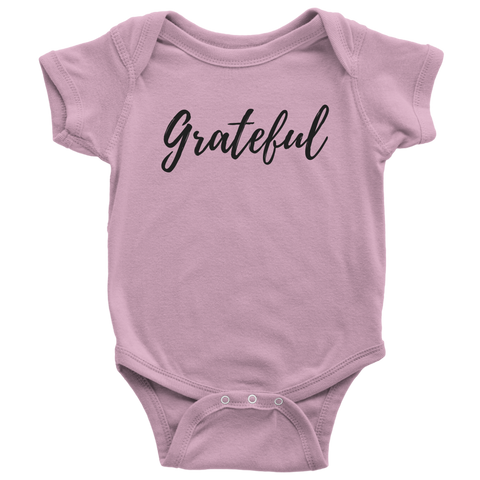 """Grateful"" Baby Bodysuit"