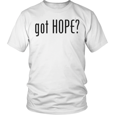 """got HOPE?"" t-shirt"